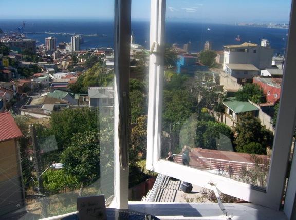 Pablo Neruda's home Valparaiso