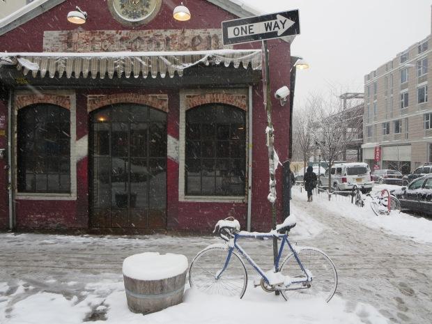 Williamsburg snow